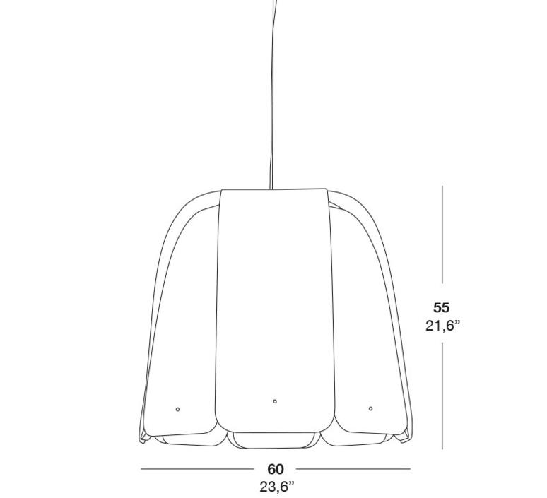 Domo sg rqr studio suspension pendant light  lzf dmo sg 22  design signed 37964 product