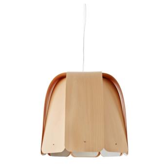 Suspension domo sg hetre naturel o60cm h55cm lzf normal