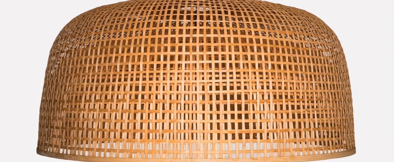 Suspension doppio grid naturel o80cm h41cm ay illuminate normal