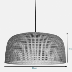 Doppio grid ay lin heinen et nelson sepulveda suspension pendant light  ay illuminate 320 101 02 p   design signed 36995 thumb