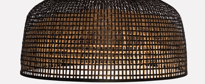 Suspension doppio grid noir o80cm h41cm ay illuminate normal