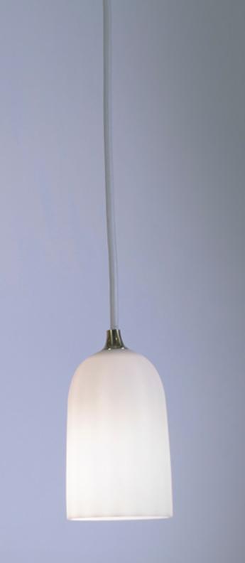 Suspension doric 8 blanc pur led o8cm h14cm innermost normal