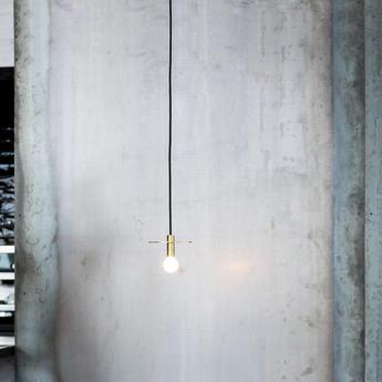 Suspension dot laiton o15 2cm h12 7cm lambert fils normal