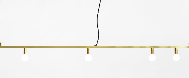 Suspension dot line laiton l183cm h13cm lambert fils normal