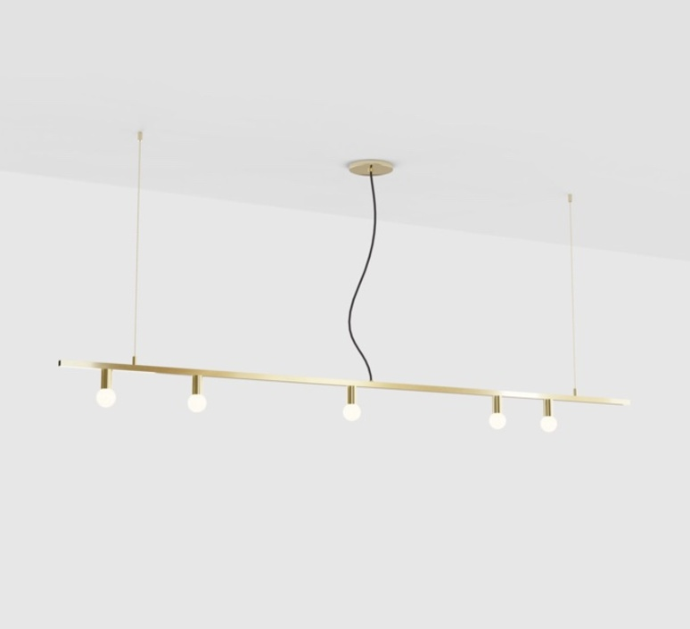 Dot line studio lambert fils suspension pendant light  lambert fils dot11bbrbkbrbr  design signed nedgis 114330 product