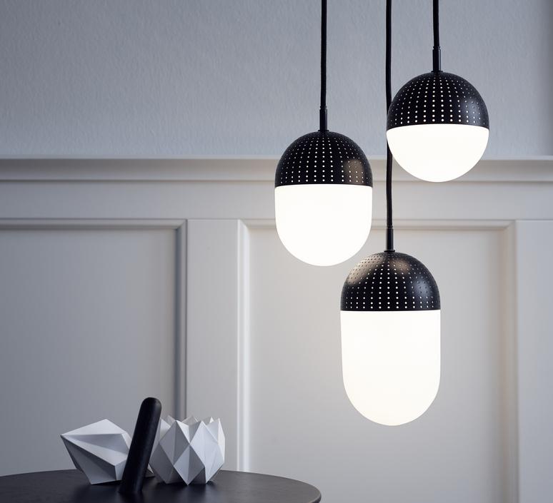 Dot pendant s  suspension pendant light  woud 133010  design signed 37540 product