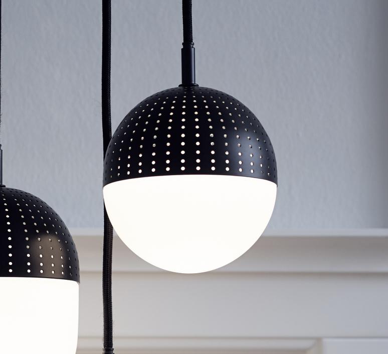 Dot pendant s  suspension pendant light  woud 133010  design signed 37544 product