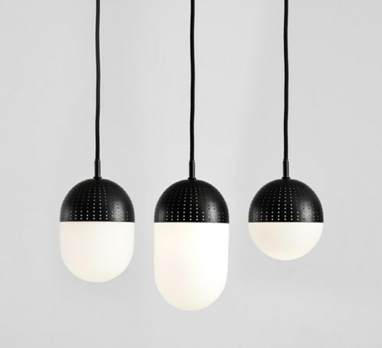 Dot pendant s  suspension pendant light  woud 133010  design signed 37553 product