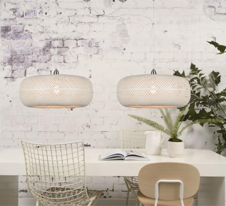 Palawan good mojo studio abat jour lampe shade  good mojo 46021100 white  design signed nedgis 121144 product