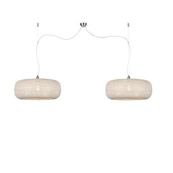 Suspension double palawan blanc o60cm h23cm good mojo normal