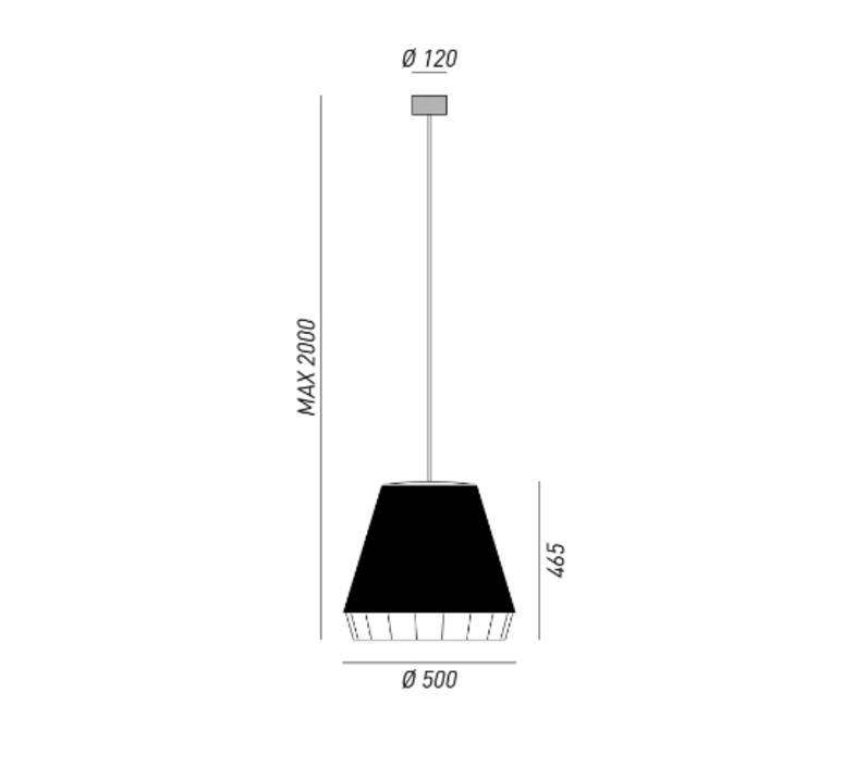 Dress brian rasmussen suspension pendant light  torremato d21c1  design signed 52203 product
