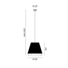 Dress brian rasmussen suspension pendant light  torremato d21c1  design signed 52203 thumb