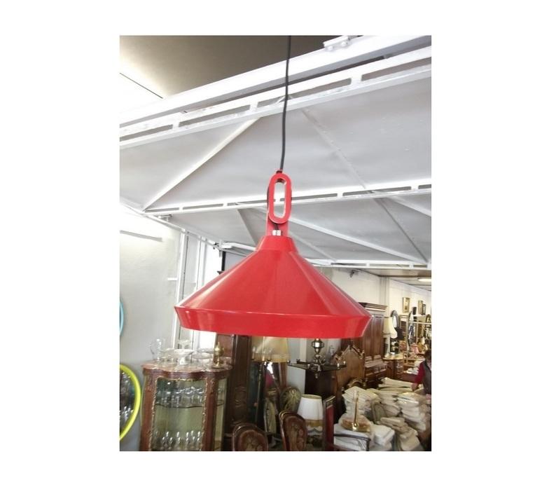 Driyos 1 studio delineodesign suspension pendant light  zava driyos 1 rouge blanc  design signed nedgis 86754 product