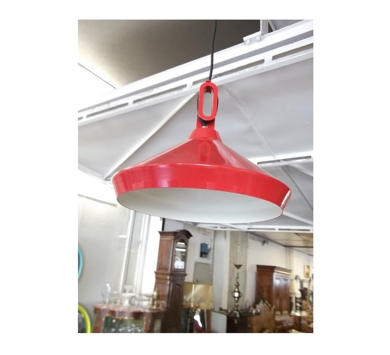 Driyos 1 studio delineodesign suspension pendant light  zava driyos 1 rouge blanc  design signed nedgis 86755 product