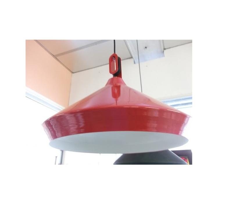 Driyos 1 studio delineodesign suspension pendant light  zava driyos 1 rouge blanc  design signed nedgis 86757 product
