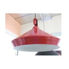 Driyos 1 studio delineodesign suspension pendant light  zava driyos 1 rouge blanc  design signed nedgis 86757 thumb