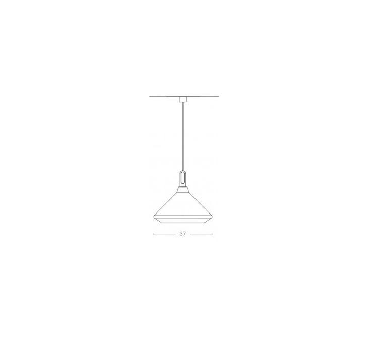 Driyos 1 studio delineodesign suspension pendant light  zava driyos 1 rouge blanc  design signed nedgis 86758 product