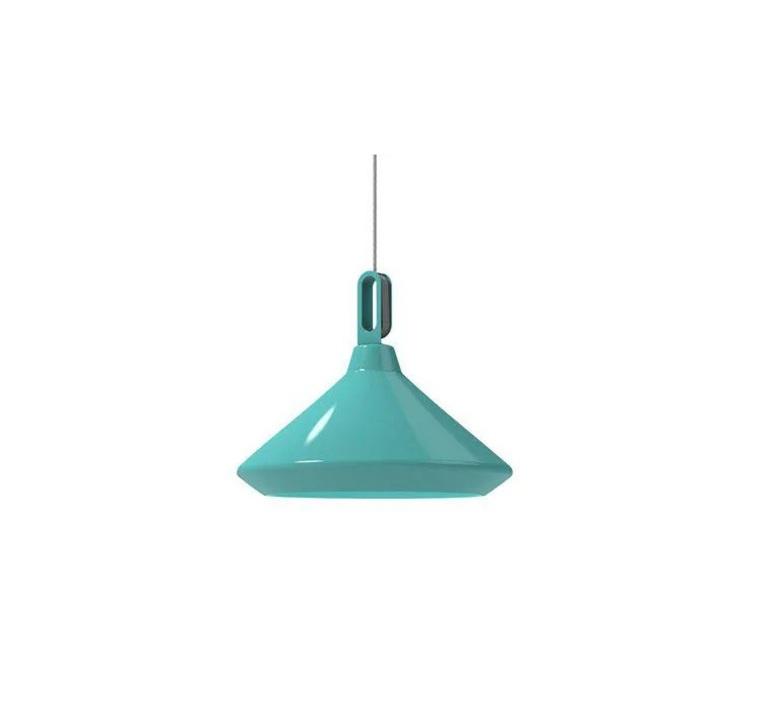 Driyos 2 studio delineodesign suspension pendant light  zava driyos 2 turquoise blanc  design signed nedgis 86761 product