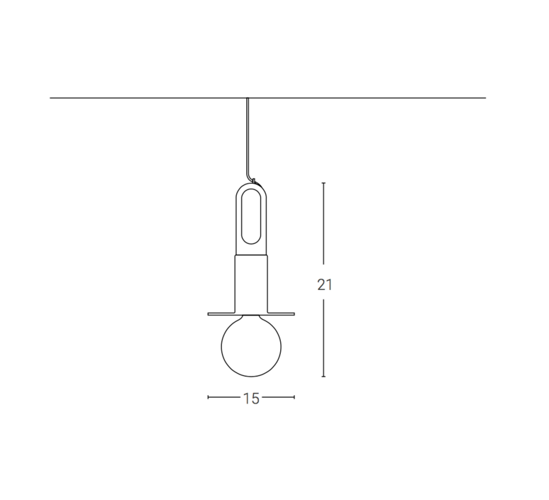 Driyos naked studio delineodesign suspension pendant light  zava driyosnaked pendantlamp pastelturquoise ral6034  design signed 36448 product