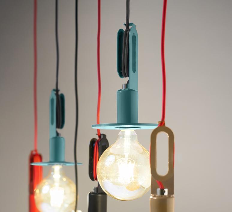 Driyos naked studio delineodesign suspension pendant light  zava driyosnaked pendantlamp pastelturquoise ral6034  design signed 36449 product