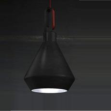 Driyos delineodesign zava driyos suspension h21cm blue iron cable scarlet red rayon luminaire lighting design signed 17577 thumb