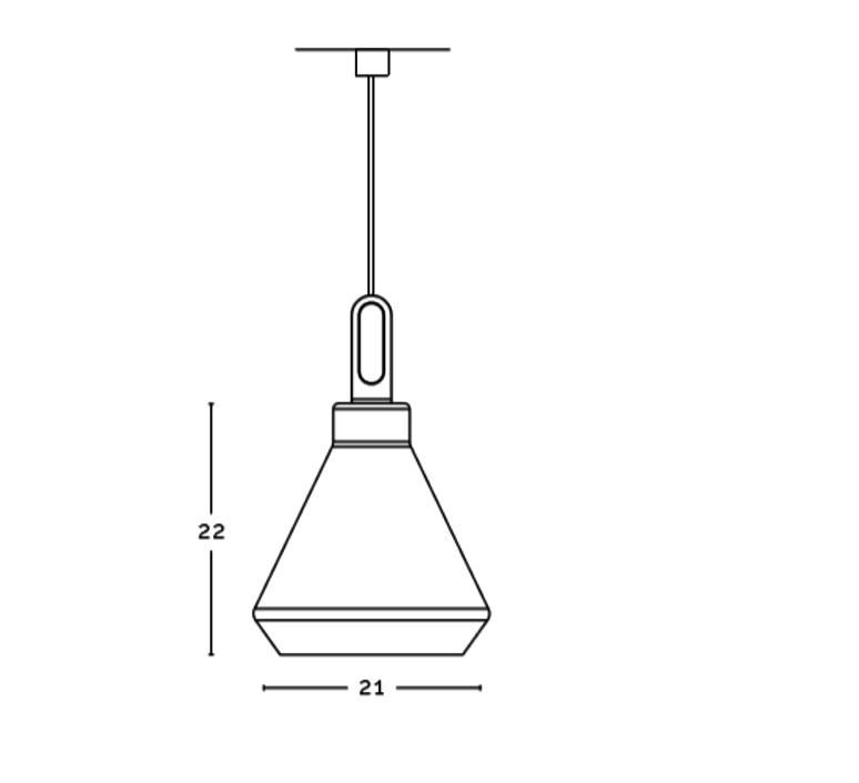 Driyos delineodesign zava driyos suspension h21cm blue iron cable scarlet red rayon luminaire lighting design signed 17581 product