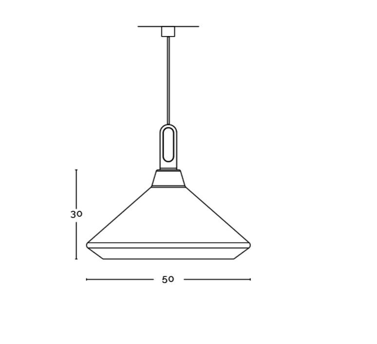 Driyos delineodesign zava driyos suspension h28cm blue iron cable scarlet red rayon luminaire lighting design signed 17568 product