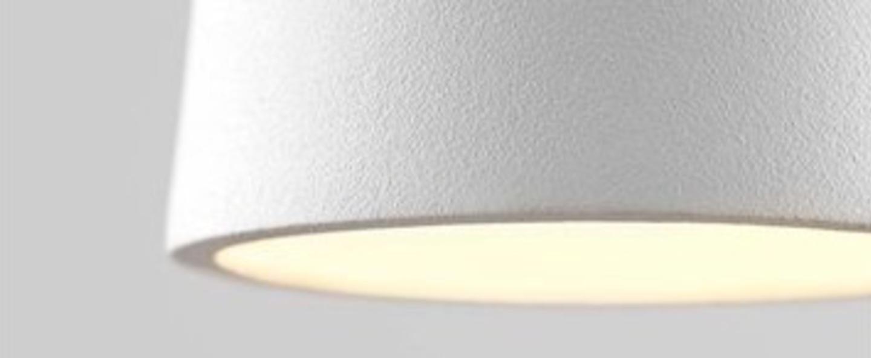 Suspension drop s1 blanc led o7cm h60cm light point normal