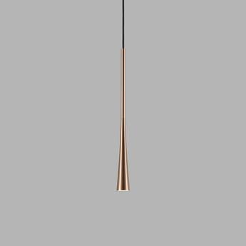 Suspension drop s2 rose dore led 2700k 200lm o7cm h90cm light point normal