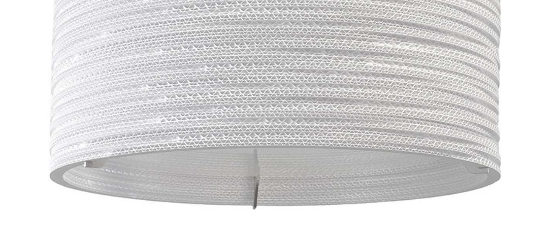 Suspension drum 18 blanc h21cm o45cm graypants normal