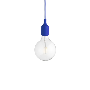 Suspension e27 bleu led h23cm o12 5cm muuto normal