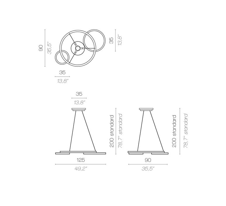 Eclisse massimiliano raggi suspension pendant light  contardi acam 001932  design signed nedgis 87588 product