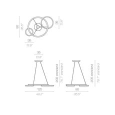 Eclisse massimiliano raggi suspension pendant light  contardi acam 001932  design signed nedgis 87588 thumb