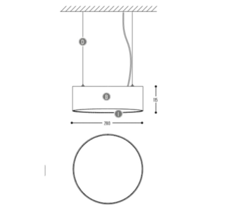 Edgar round s susanne uerlings suspension pendant light  dark 947 03 810003 01 w 0  design signed nedgis 69058 product
