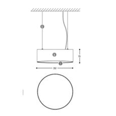 Edgar round s susanne uerlings suspension pendant light  dark 947 03 810003 01 w 0  design signed nedgis 69058 thumb