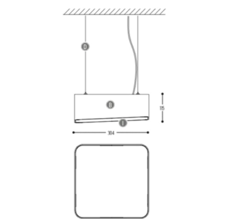 Edgar square s susanne uerlings suspension pendant light  dark 942 02 809003 01 g 0  design signed nedgis 69060 product