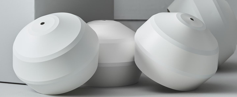 Suspension edge blanc o20cm h15cm pholc normal