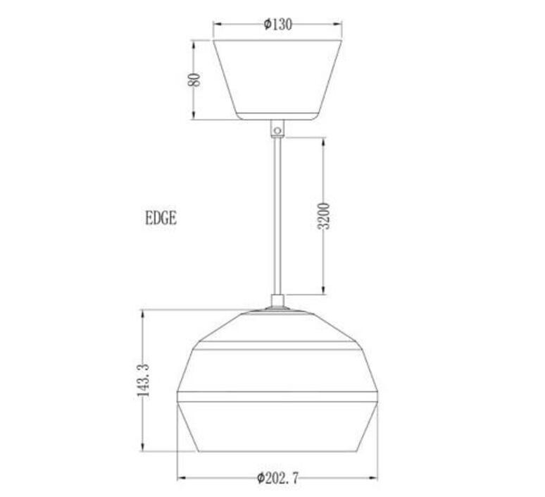 Edge monika mulder suspension pendant light  pholc 249113  design signed nedgis 90253 product