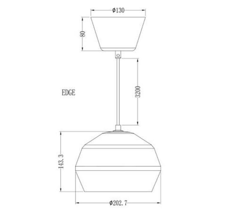 Edge monika mulder suspension pendant light  pholc 249115  design signed nedgis 90245 product