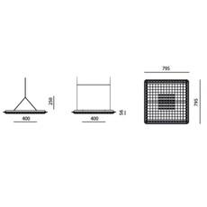 Eggboard massimo roj suspension pendant light  artemide m3102w21  design signed 61423 thumb