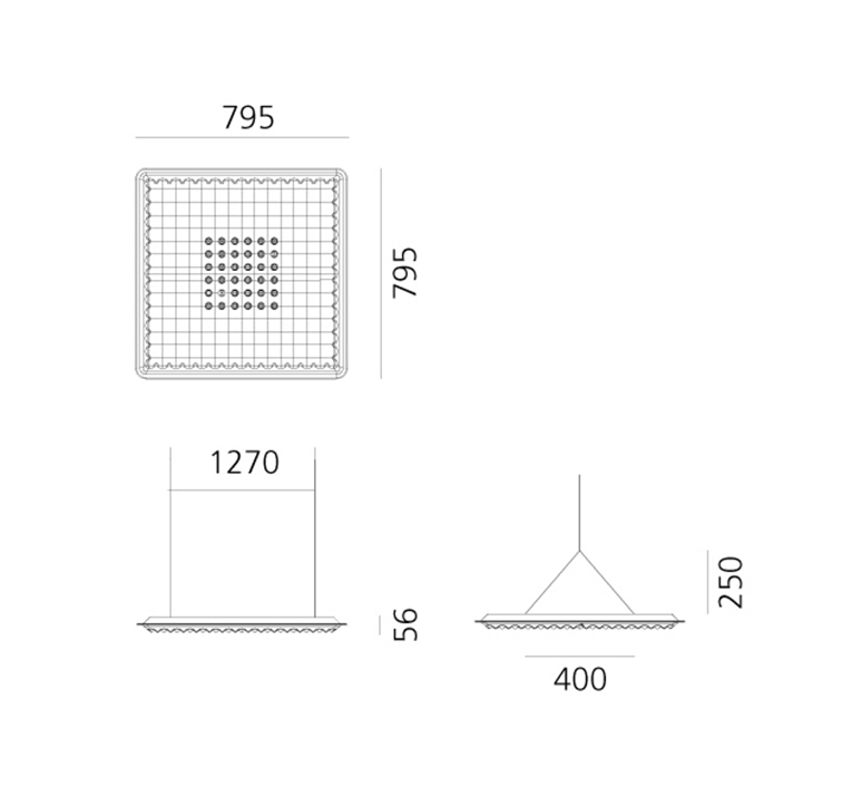 Eggboard direct massimo roj suspension pendant light  artemide m3102n21  design signed nedgis 121314 product