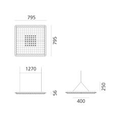 Eggboard direct massimo roj suspension pendant light  artemide m3102n21  design signed nedgis 121314 thumb