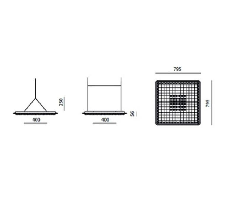 Eggboard massimo roj suspension pendant light  artemide m3102w91  design signed 61425 product