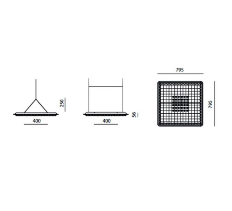 Eggboard massimo roj suspension pendant light  artemide m3103w91  design signed 61429 product