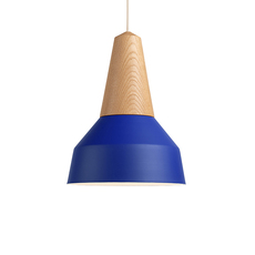 Eikon basic julia mulling et niklas jessen suspension pendant light  schneid eikon basic oak true blue white canopy  design signed nedgis 106481 thumb