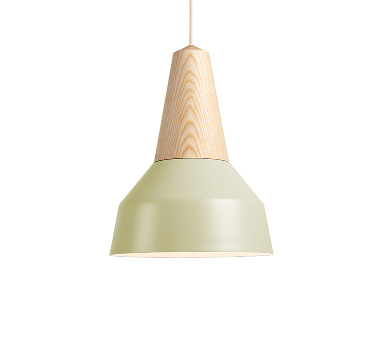 Eikon basic julia mulling et niklas jessen suspension pendant light  schneid eikon basic ash pistache white canopy  design signed nedgis 106452 product