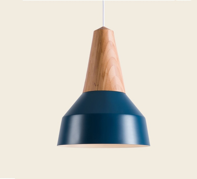 Eikon basic julia mulling et niklas jessen suspension pendant light  schneid eikon basic bleu frene  design signed 88977 product