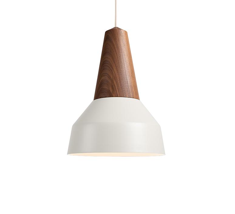 Eikon basic julia mulling et niklas jessen schneid eikon basic walnut white luminaire lighting design signed 106429 product