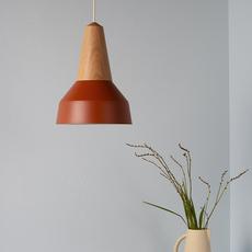 Eikon basic julia mulling et niklas jessen suspension pendant light  schneid eikon basic walnut amber white canopy  design signed nedgis 106495 thumb