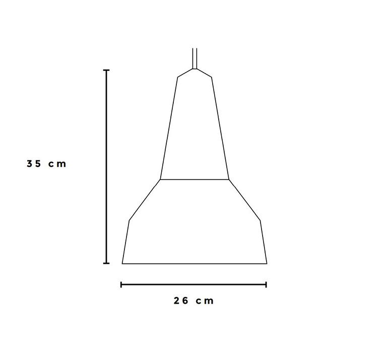 Eikon basic julia mulling et niklas jessen suspension pendant light  schneid eikon basic walnut poppy red white canopy  design signed nedgis 106605 product